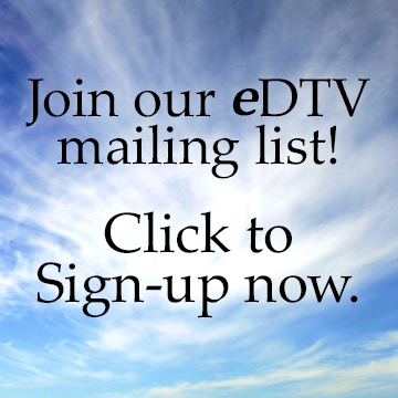 Blue sky-Join eDTV Mailing list
